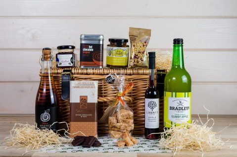 Autumn Wicker Hamper