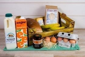 Breakfast essential self-catering box