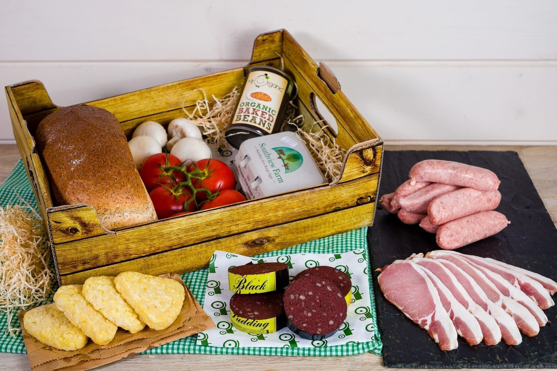 Farmhouse breakfast self-catering box