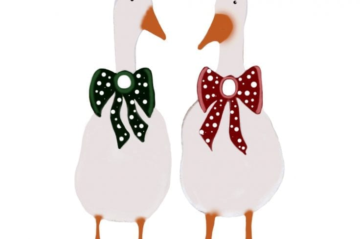 Ducks Print