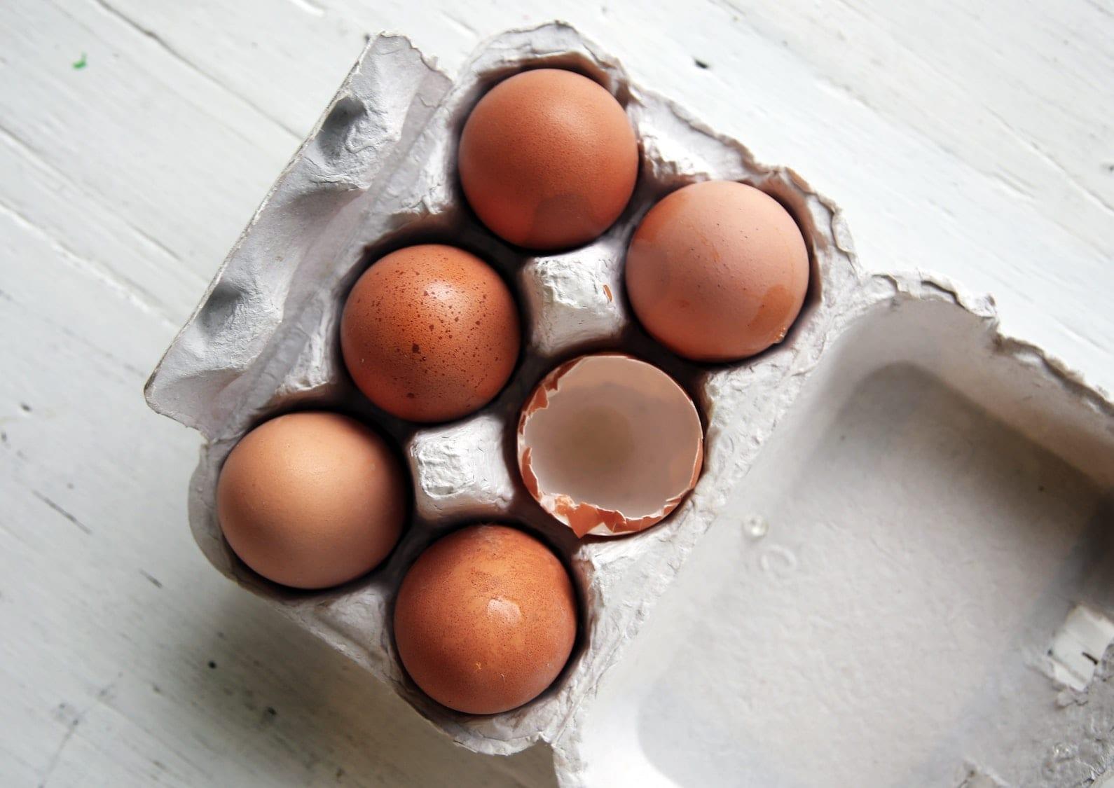 Free Range Eggs - Half Dozen