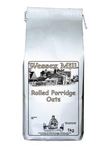 Wessex Mill Rolled Porridge Oats 1Kg