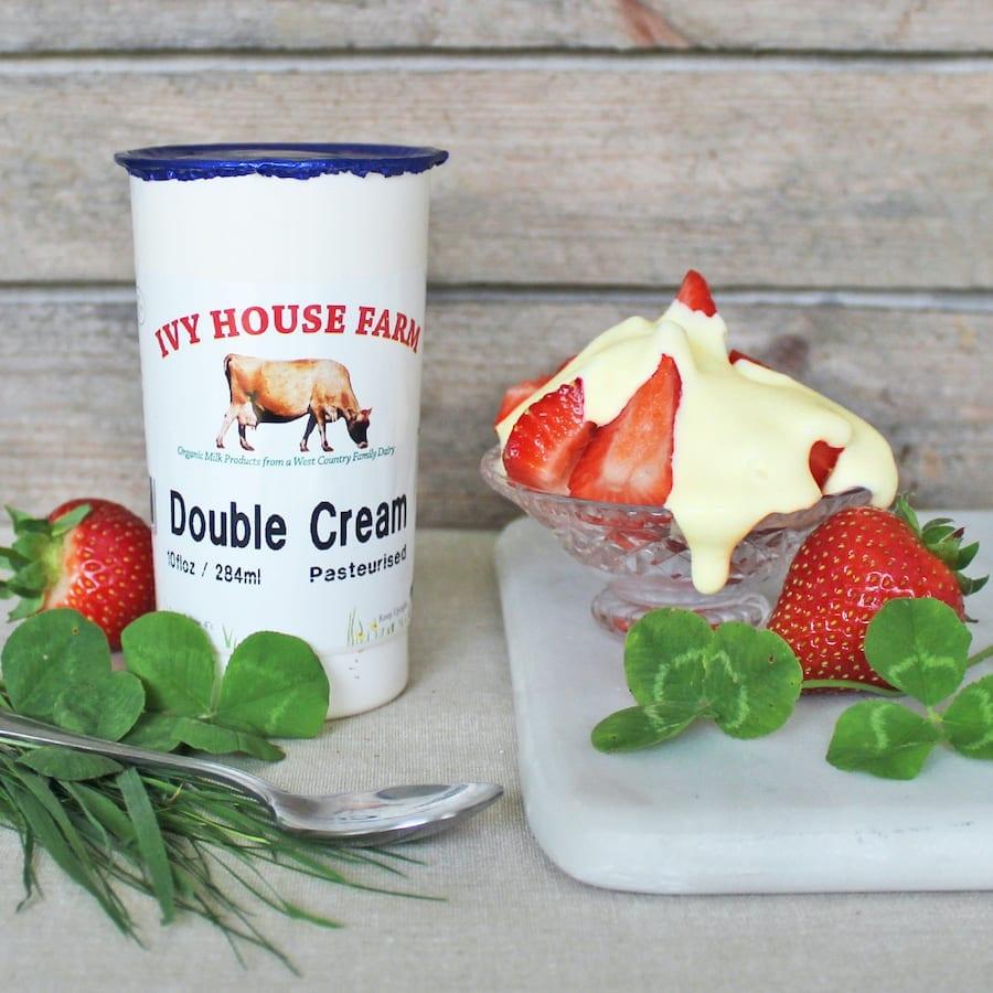 Organic Jersey Double Cream 10 Floz