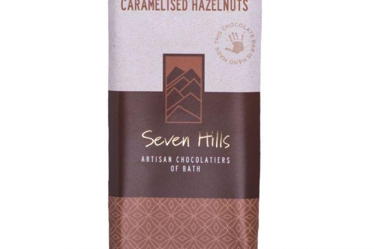 dark caramelised hazelnuts