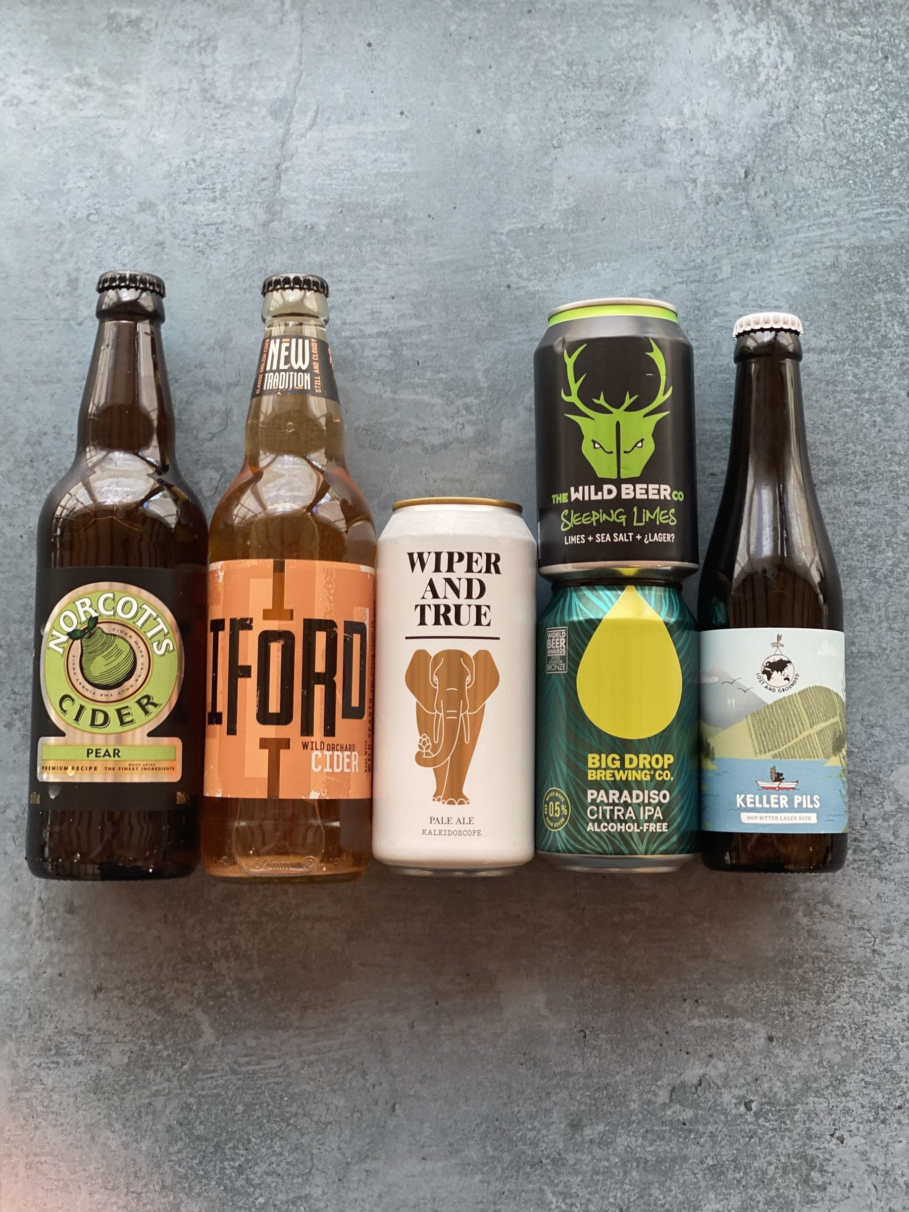 Local Craft Ales Selection