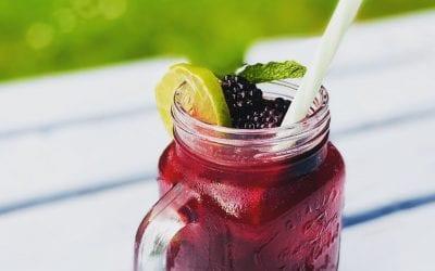 Wild Blackberry Gin & Tonic