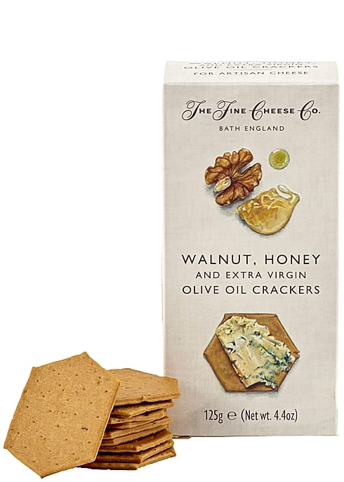 Walnut, honey cracker