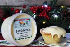 Brandy clotted cream
