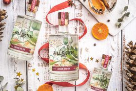 Christmas London dry gin