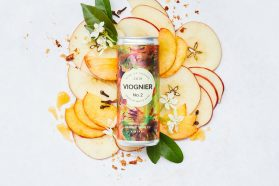 Canned wine viognier