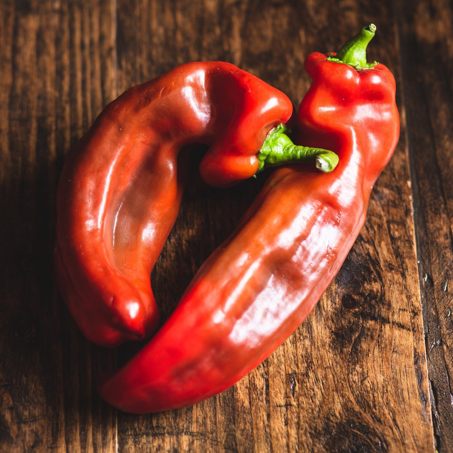 Sweet Pointed Peppers